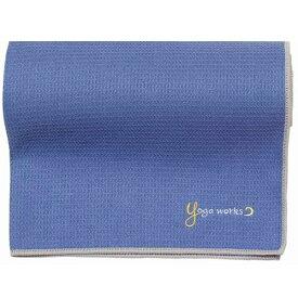 ヨガワークス YOGA WORKS ワッフルヨガラグ(グレイパープル/約173cm×61cm) YW-A160-C074