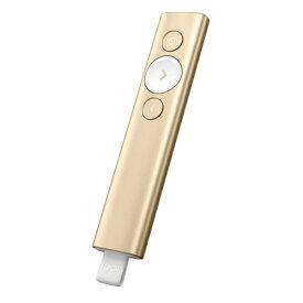 ロジクール Logicool Spotlight (スポットライト) ゴールド プレゼンテーション リモート R1000GD[R1000GD]