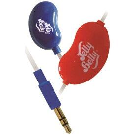たのしいかいしゃ イヤホン カナル型 JB-EM2 blue berry&cherry:ネイビーブルー&レッド [リモコン・マイク対応 /φ3.5mm ミニプラグ][JBEM2NVR]