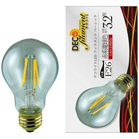 エスティーイー STE LDA3L/C/24/B/D LED電球 DECO LIGHT LED Filament BASIC(デコライトLED・フィラメントベーシック) クリア [E26 /電球色 /1個 /一般電球形 /全方向タイプ][LDA3LC24BD]
