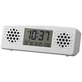 リズム時計 RHYTHM 置き時計 「アクアプルーフ ミュージック」 8RDA73RH03