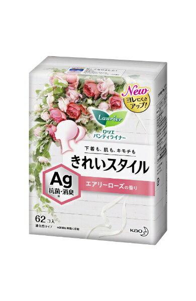 花王 Kao Laurier(ロリエ) きれいスタイル 消臭Agデオドラント スイートローズの香り 62コ入