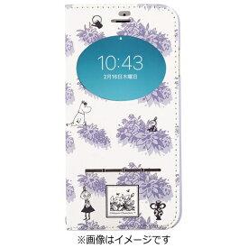 HAMEE ハミィ iPhone 7用 手帳型 ムーミン フリップ窓付きダイアリーケース ガールズ/バイオレット