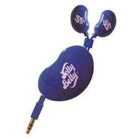 たのしいかいしゃ イヤホン カナル型 JB-MEP3 cotton candy&blue berry:ピンク&ネイビーブルー [コード巻き取り /φ3.5mm ミニプラグ][JBMEP3NVP]