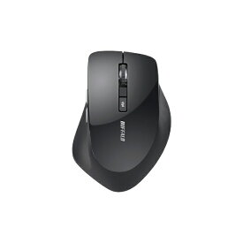 BUFFALO バッファロー BSMBW328BK マウス BSMBW328シリーズ ブラック [BlueLED /5ボタン /USB /無線(ワイヤレス)][BSMBW328BK]