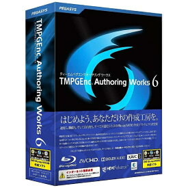 ペガシス PEGASYS 〔Win版〕 TMPGEnc Authoring Works 6[TMPGENC AUTHORING WO]