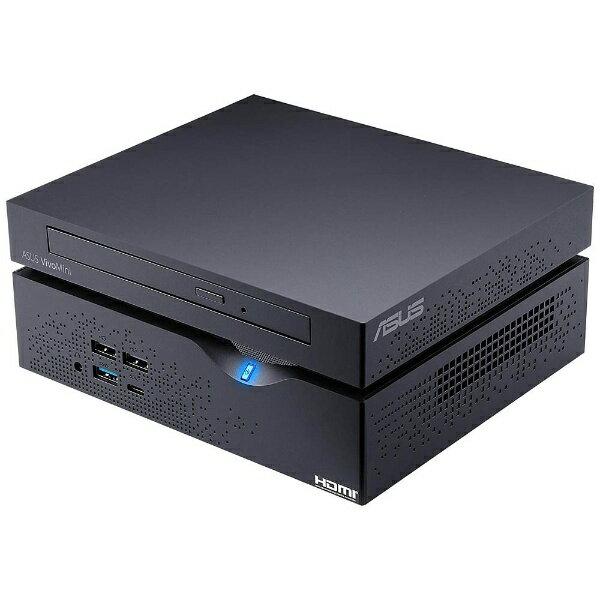【送料無料】 ASUS モニター無 デスクトップPC[Win10 Home・Core i7・SSD 128GB・HDD 1TB・メモリ 4GB] ASUS VivoMini VC66 マットブラック VC66-B060Z (2017年4月モデル)[VC66B060Z]