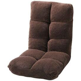 東谷 AZUMAYA 【座椅子】もこもこリクライナー FKC-006BR(W42×D60-102×H56×SH14cm)