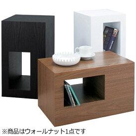 東谷 AZUMAYA サイドテーブル セル CEL-70WAL(W28×D28×H48cm)