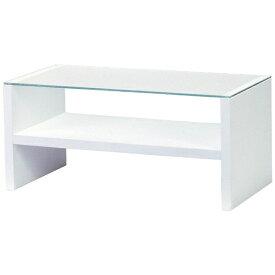 東谷 テーブル HAB-621WH(W90×D45×H41.5cm)