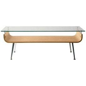 東谷 AZUMAYA ガラステーブル NET-301NA(W96×D45×H34cm)