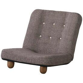東谷 AZUMAYA 【座椅子】脚付き座椅子 スマート RKC-930BR(W65×D73-108×H58×SH20cm)[RKC930BR]