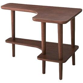 東谷 AZUMAYA サイドテーブル NYT-781WAL(W80×D50×H52cm)