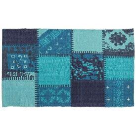 東谷 AZUMAYA マット TTR-130BL(75×45cm/ブルー)