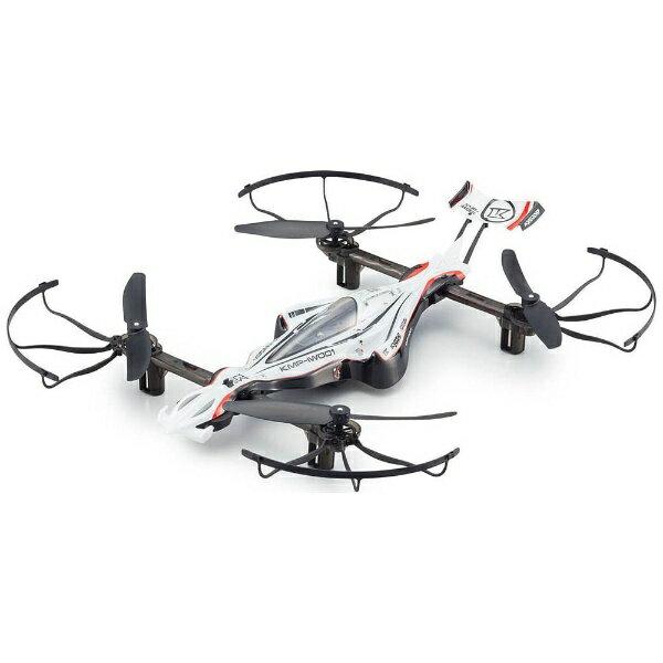 【送料無料】 京商 【ドローン】1/18スケール ラジオコントロール DRONE RACER G-ZERO ドローンレーサー ジーゼロ(ダイナミックホワイト) レディセット 20571W[20571W]