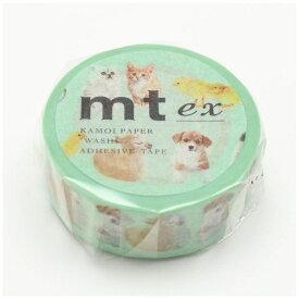 カモ井加工紙 KAMOI mt マスキングテープ mt ex baby animals MTEX1P129