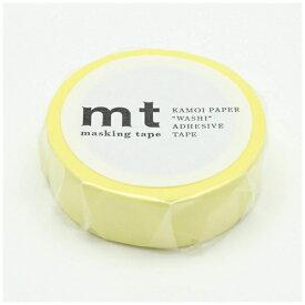 カモ井加工紙 KAMOI mt マスキングテープ mt 1P パステルレモン MT01P353