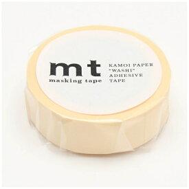 カモ井加工紙 KAMOI mt マスキングテープ mt 1P パステルエクリュ MT01P354