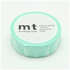 カモ井加工紙 KAMOI mt マスキングテープ mt 1P パステルエメラルド MT01P355