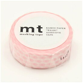 カモ井加工紙 KAMOI mt マスキングテープ mt 1P ドット・いちごミルク MT01D357