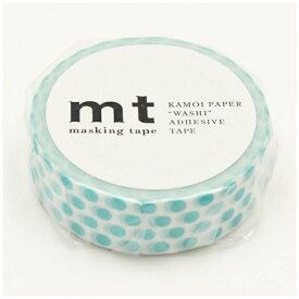 カモ井加工紙 KAMOI mt マスキングテープ mt 1P ドット・ソーダ MT01D363