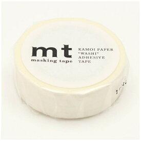カモ井加工紙 KAMOI mt マスキングテープ mt 1P ドット・ホワイト MT01D367