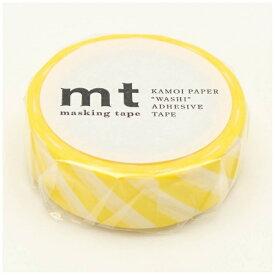 カモ井加工紙 KAMOI mt マスキングテープ mt 1P ストライプ・レモン MT01D369