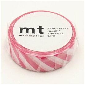 カモ井加工紙 KAMOI mt マスキングテープ mt 1P ストライプ・マゼンダ MT01D372