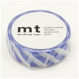 カモ井加工紙 KAMOI mt マスキングテープ mt 1P ストライプ・ブルー MT01D375