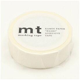 カモ井加工紙 KAMOI mt マスキングテープ mt 1P ストライプ・ホワイト MT01D379
