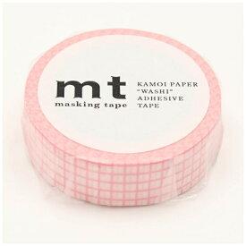 カモ井加工紙 KAMOI mt マスキングテープ mt 1P 方眼・さくら MT01D393