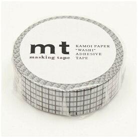カモ井加工紙 KAMOI mt マスキングテープ mt 1P 方眼・ブラック MT01D400
