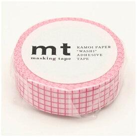 カモ井加工紙 KAMOI mt マスキングテープ mt 1P 方眼・ベリームース MT01D402