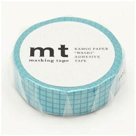 カモ井加工紙 KAMOI mt マスキングテープ mt 1P 方眼・プール MT01D403