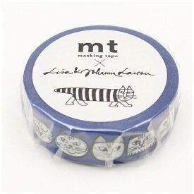 カモ井加工紙 KAMOI mt マスキングテープ mt×Lisa Larson リサラーソン ねこのかお MTLISA10