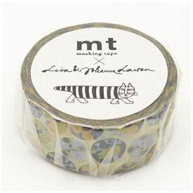 カモ井加工紙 KAMOI mt マスキングテープ mt×Lisa Larson リサラーソン 多肉植物 MTLISA12