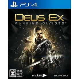 スクウェアエニックス SQUARE ENIX デウスエクス マンカインド・ディバイデッド【PS4】 【代金引換配送不可】