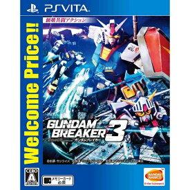 バンダイナムコエンターテインメント BANDAI NAMCO Entertainment ガンダムブレイカー3 Welcome Price!!【PS Vitaゲームソフト】