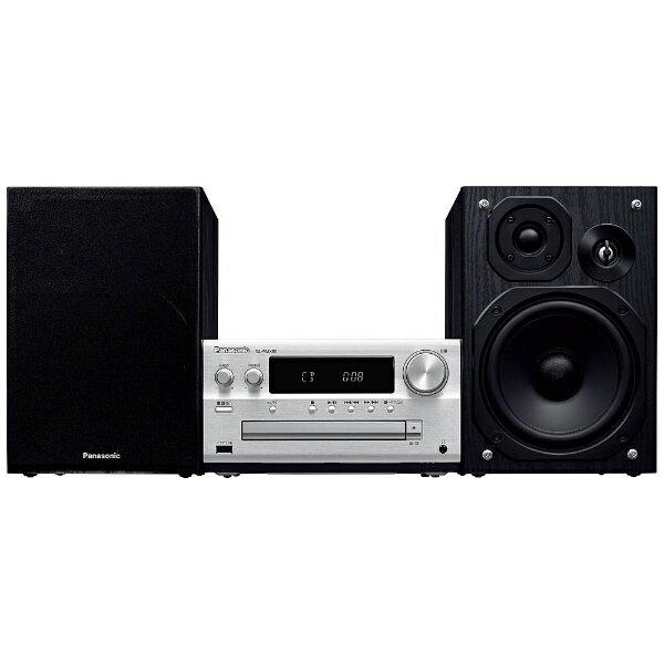 【送料無料】 パナソニック Panasonic 【ハイレゾ音源対応】 Bluetooth対応 ミニコンポ SCPMX80S【ワイドFM対応】[SCPMX80S] panasonic