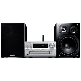 パナソニック Panasonic 【ハイレゾ音源対応】 Bluetooth/WiFi対応 ミニコンポ SCPMX150S【ワイドFM対応】[CDコンポ SCPMX150S] panasonic