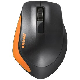 BUFFALO バッファロー BSMBW300MOR マウス BSMBW300Mシリーズ オレンジ [BlueLED /3ボタン /USB /無線(ワイヤレス)][BSMBW300MOR]