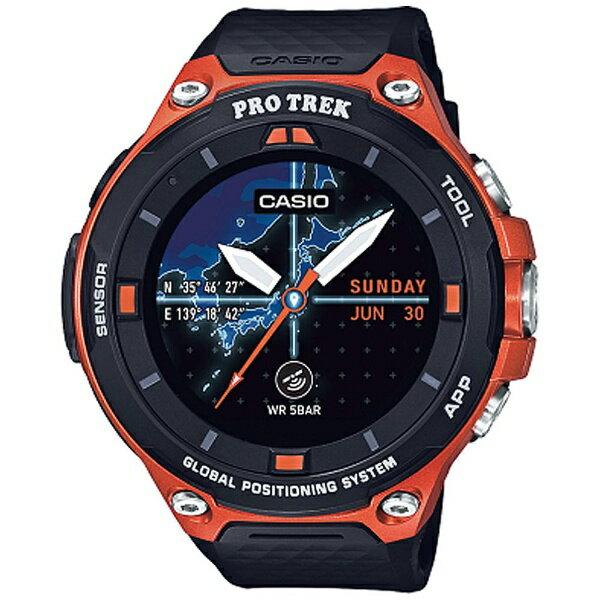 カシオ CASIO スマートウォッチ 「Smart Outdoor Watch PRO TREK Smart」 (オレンジ) WSD-F20-RG[WSDF20RG]