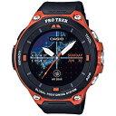 【あす楽対象】【送料無料】 カシオ スマートウォッチ 「Smart Outdoor Watch PRO TREK Smart」 (オレンジ) WSD-F2…