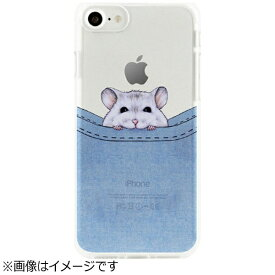 ROA ロア iPhone 7用 ソフトクリアケース ベイビーアニマル ポケットハムスター Dparks DS9484i7
