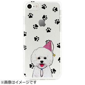 ROA ロア iPhone 7用 ソフトクリアケース アニマルズ ビションフリーゼ Dparks DS9488i7