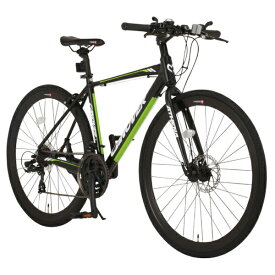 オオトモ OTOMO 700×28C型 クロスバイク ATHENA(マットブラック/470サイズ《適応身長:160cm以上》) CAC-027-DC【2017年モデル】【組立商品につき返品不可】 【代金引換配送不可】