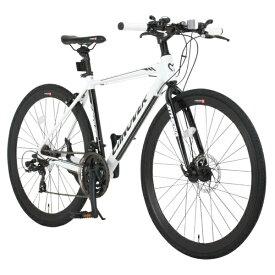 オオトモ OTOMO 700×28C型 クロスバイク ATHENA(ホワイト/470サイズ《適応身長:160cm以上》) CAC-027-DC【2017年モデル】[CAC_027_DC_ATHENA]【組立商品につき返品不可】 【代金引換配送不可】