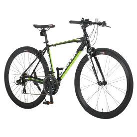 オオトモ OTOMO 700×28C型 クロスバイク KRNOS(マットブラック/470サイズ《適応身長:160cm以上》) CAC-028-CC【2017年モデル】[CAC_028_KRNOS]【組立商品につき返品不可】 【代金引換配送不可】