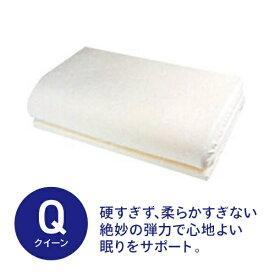 生毛工房 UMO KOBO 通気性低反発トッパー クィーンサイズ(170×200×3.5cm/ベージュ)【日本製】