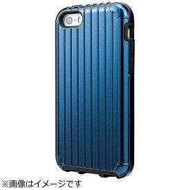坂本ラヂヲ iPhone SE(第1世代)4インチ / 5c / 5s / 5用 COLORS Rib Hybrid Case ネイビー CHC416NV ポケット付